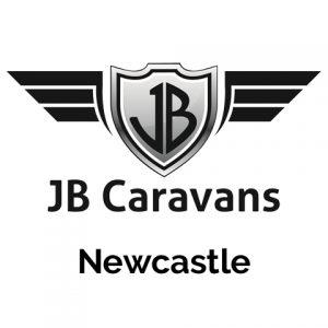 jb caravans newcastle logo