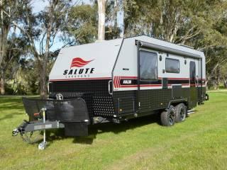 salute avalon family bunk caravan 002