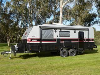 salute avalon family bunk caravan 004
