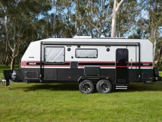 salute avalon family bunk caravan 005