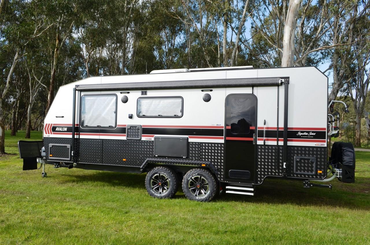 salute avalon family bunk caravan 006