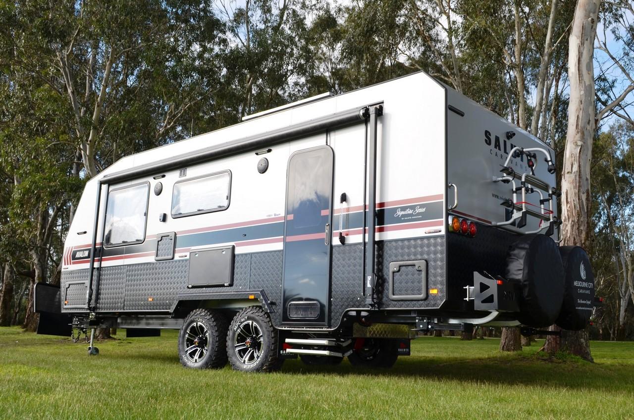 salute avalon family bunk caravan 008