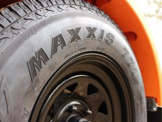 Trailmaster Quality Maxxis tyres