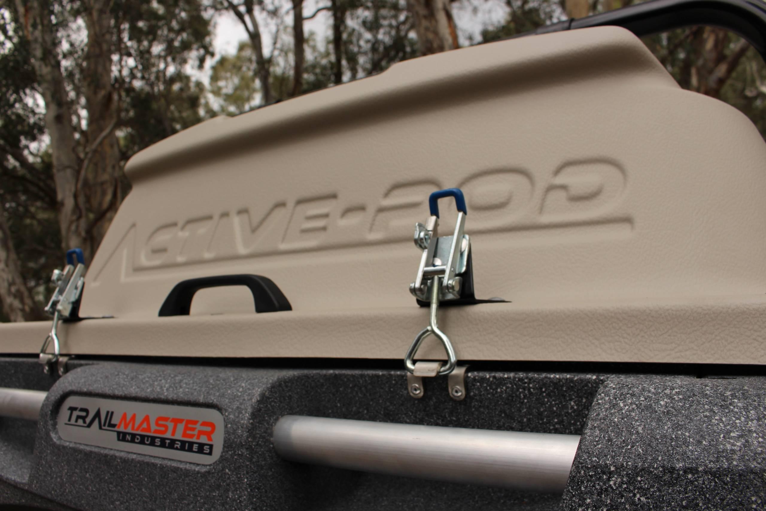 Trailmaster POD Trailer Locking system
