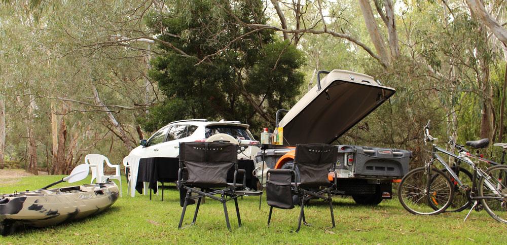 Trailmaster POD Trailer picnic