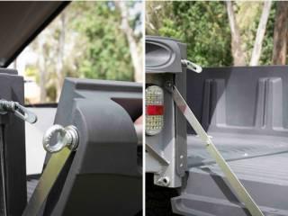 trailmaster open tailgate feature