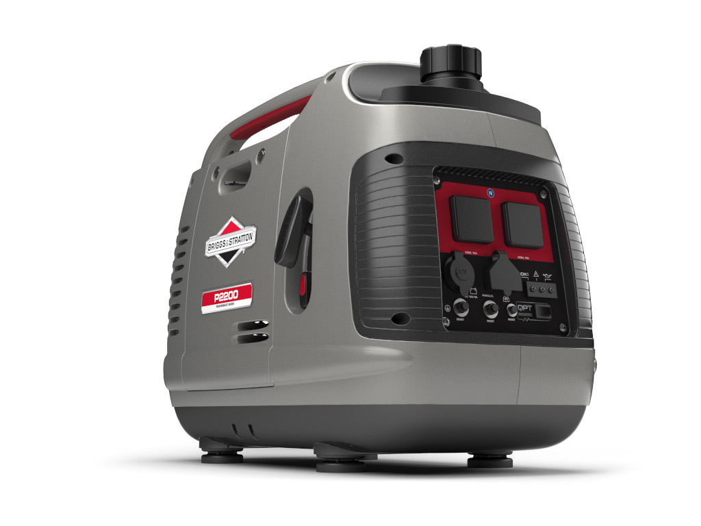 New Age Caravans Melbourne bonus pack options include this generator pack includes a Briggs & Stratton P2200 generator with 12DC output and inverter technology