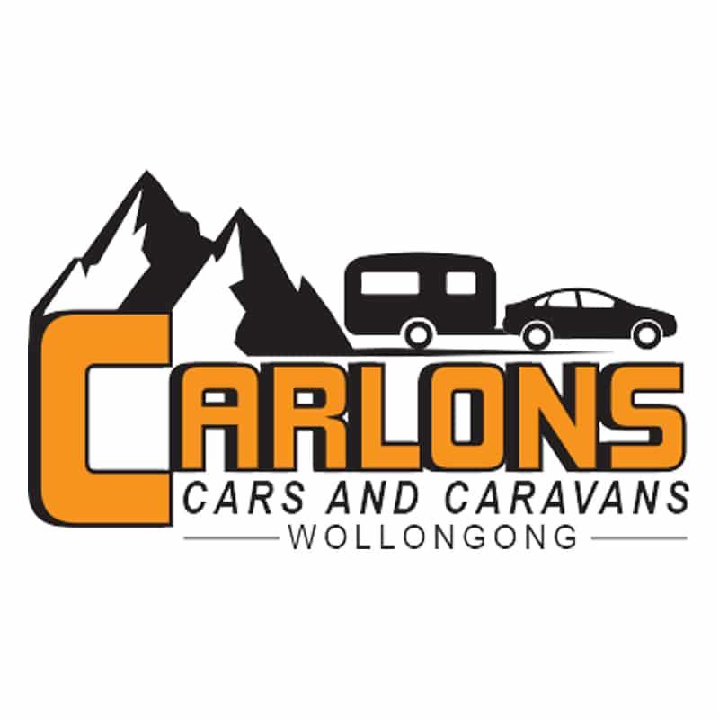 carlons caravans logo