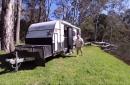 nova caravans on display