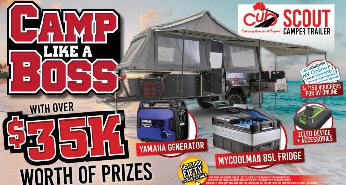 camp like a boss minor prizes woobox