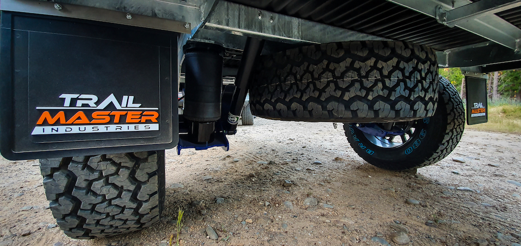 trailmaster active podtrailing arm suspension airbag opt