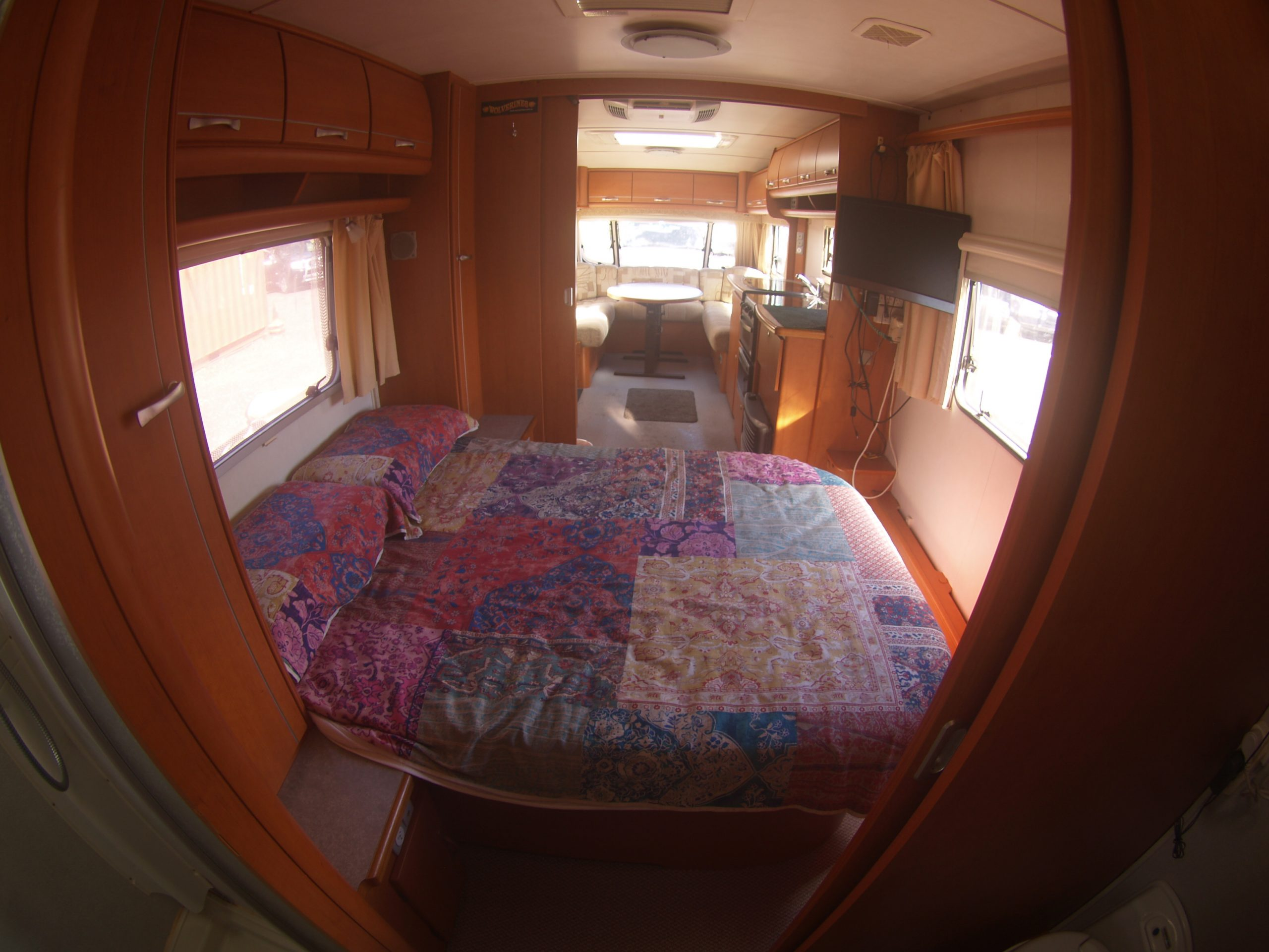 Geist XKlusiv 660 Caravan for Sale - Bedroom