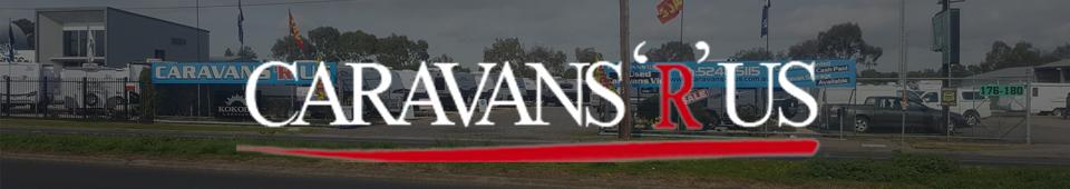 caravans r us banner