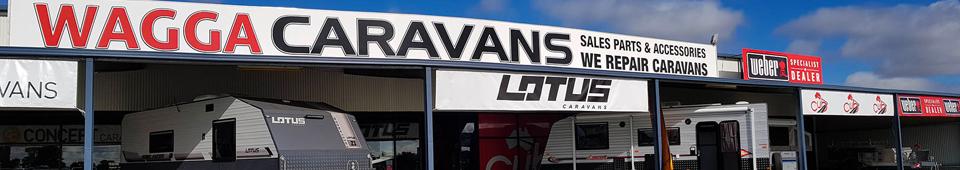 wagga caravan centre banner
